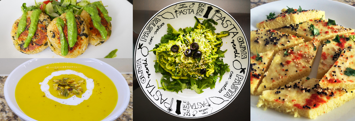 Zucchini Noodles in Creamy Avocado Sauce (Raw, Plant-Based & Oil-Free)