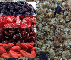 Homemade Super Berries Granola