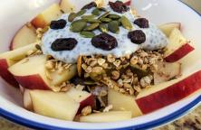 Fruit & Nut Chia Pudding Breakfast