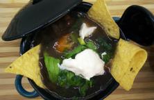 Avocado Black Bean Soup