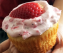 Egg less Strawberry Vanilla Cupcake