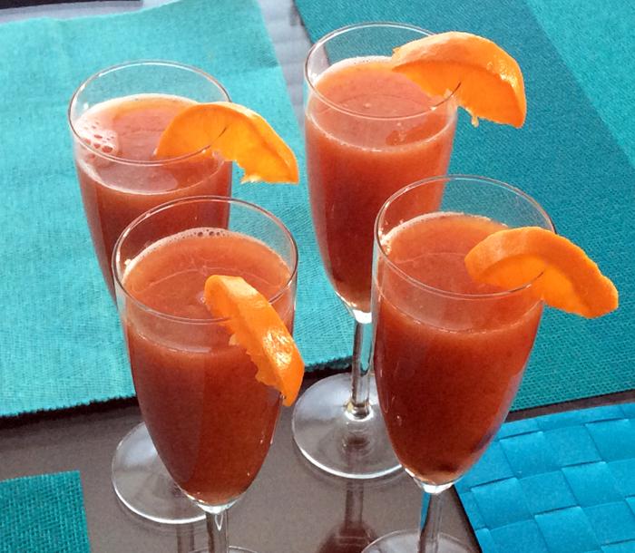 orange sunshine juice recipe natural fresh fruit juice