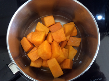 Boiling Pumpkin with Spices