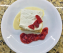 Tres Leches With Cream Berries Compote