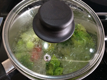 Vegetable Broth Boiling
