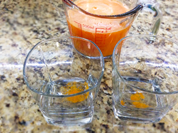Carrot Turmeric Juice