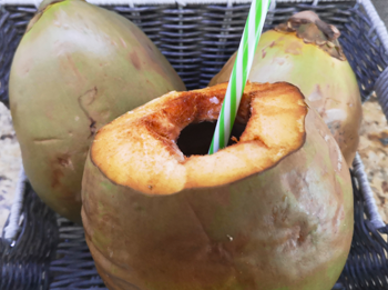 Fresh Green Young Coconut Water