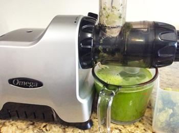 Juicing Clean Green Ingredients