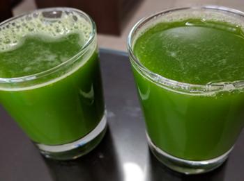 Kale Kiwi Celery Juice